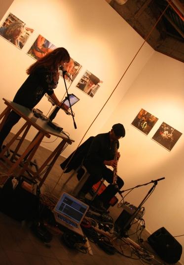 Tuna Pase & Daniel Davidovsky @Barbur Gallery, Jerusalem, 2011